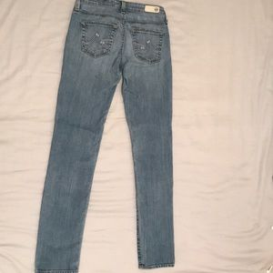 Ag Adriano Goldschmied Jeans - AG Adriano Goldschmied Skinny Jeans light blue